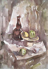 - artwork no_title-1046113209.jpg - 2002, Watercolor, Still Life