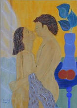 - artwork Honeymoon-1043609461.jpg - 1997, Painting Acrylic, Figurative