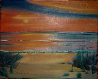 Barbara Honsberger Artwork By the Sea, 2008 Oil Painting, Landscape