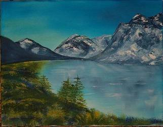 Barbara Honsberger Artwork Cold Mountains, 2008 Oil Painting, Landscape