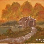 Covered Bridge By Barbara Honsberger