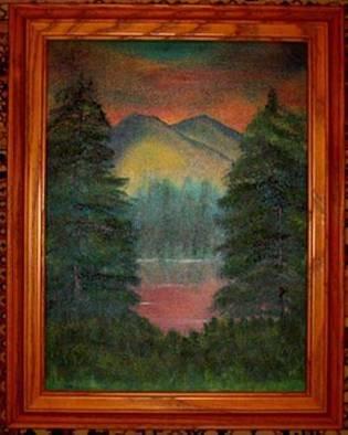 Barbara Honsberger Artwork Sunrise, 2008 Oil Painting, Landscape