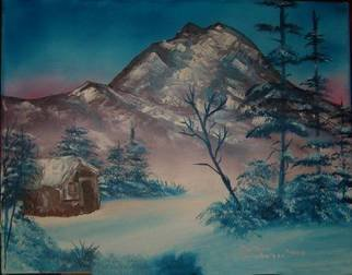 Barbara Honsberger Artwork Winter Solitude, 2008 Oil Painting, Landscape