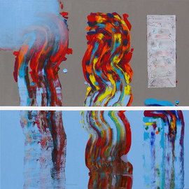 Hooshang Khorasani Artwork Color Storm Surge, 2013 Other Painting, Abstract