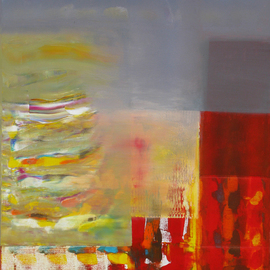 Hooshang Khorasani Artwork Color Storm on the Corner, 2014 Other Painting, Abstract