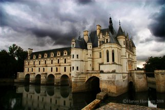 Color Photograph by Harvey Horowitz titled: Chateau Cenenceau, created in 2008