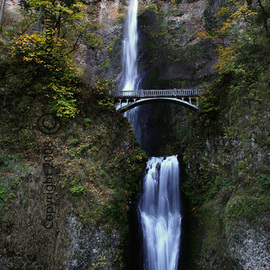 Harvey Horowitz: 'Multnomah Falls', 2008 Color Photograph, Inspirational. Artist Description:  Multnomah Falls ...