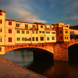Harvey Horowitz: 'Pontevechio', 2008 Color Photograph, Inspirational. Artist Description:  Potevechio Bridge, Florence, Italy ...