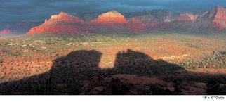 Artist: Harvey Horowitz - Title: Shadow of Cathedral Rock - Medium: Color Photograph - Year: 2005