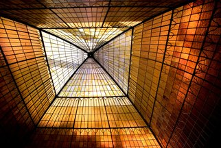 Color Photograph by Harvey Horowitz titled: Skylight, 2007