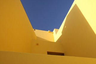 Color Photograph by Harvey Horowitz titled: Yellow Wall, 2006