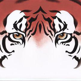 Eyes: Java Tiger