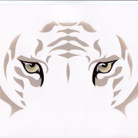 Eyes: Snow Tiger