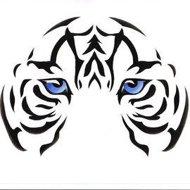 Eyes: White Tiger Cub