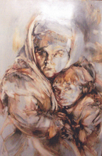 - artwork TZARIST_DREAM-1309508362.jpg - 2011, Painting Oil, Figurative