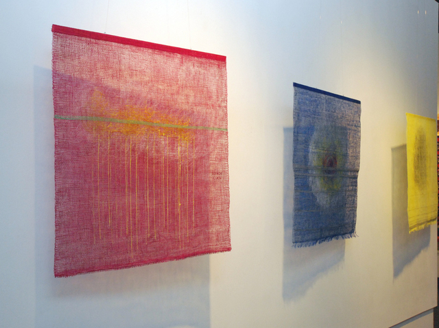 Hye Shin  'JIA Art Gallery Exhibition', created in 2010, Original Fiber.