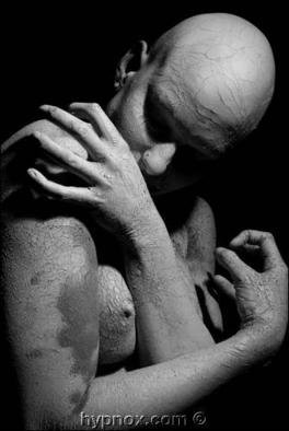 Hypnox Photography: 'Clay', 2004 Black and White Photograph, Erotic. Courtnee in Clay SeriesLimited edition print...