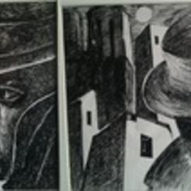 Said Ibrahimov: 'ink series', 1971 Ink Drawing, Naturalism. Artist Description: Six different pieces of art in a series created by my father Ashraf Ibrahimov 1941- 2000 The Lovers, Memories, Waiting, Otioseness, Cabaret, Farewell to Autumn. The dimensions of each drawing can be provided upon the request. ...
