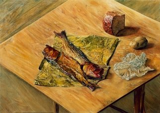 Said Ibrahimov Artwork still life, 2000 Oil Painting, Naturalism