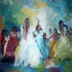 dancing girls By Al Shaikh Aldaw