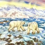 polar bears in the arctic By Igor Moshkin