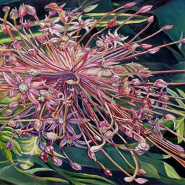Laurie Ihlenfield Artwork For a Time, 2009 Oil Painting, Floral