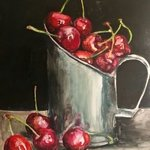 cherries By Ilda Ibro