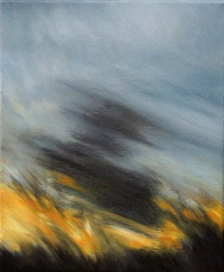 Ilona Jetmar Artwork Refraction 614, 2014 Oil Painting, Landscape