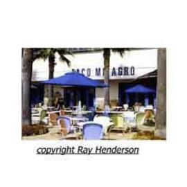 Miami Urban Life: 'Taco Milagro', 2000 Color Photograph, Inspirational.