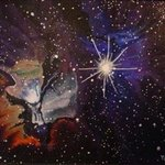 Trifid Nebula in the Constellation Sagitarius By Eve Co