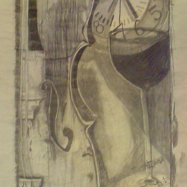 Eve Co Artwork Unfinished Look Closely, 2008 Pencil Drawing, Representational