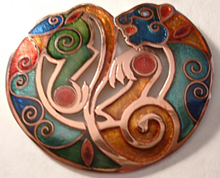 - artwork Scythian_Cat-1203217980.jpg - 2008, Enameling Vitreous, undecided