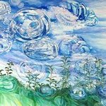 air water drops By Imelda Feraille