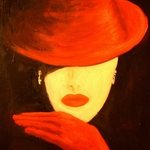 Red Hat and Red Gloves By Birgit Schnapp