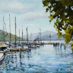 Attersee Austra By Ingrid Neuhofer Dohm