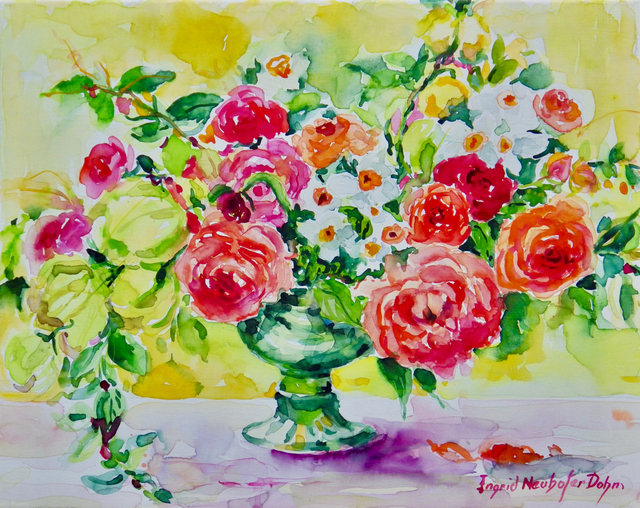 Ingrid Neuhofer Dohm Red Roses 2018