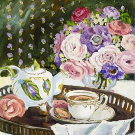Afternoon Tea, Ingrid Neuhofer Dohm