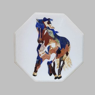 Surendra Rajput: 'the runnig horse', 2020 Marble Sculpture, Horses. Hii This is Surendra hereYou are Welcome to the Inlay world.  It is also believed that Horse painting in your home leads to financial stability in your life.  Running horse signifies success and power.  According to Vastu, a horse represents endurance, speed and courage.  The horse is a universal ...