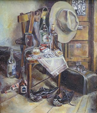 Artist: Ia Saralidze - Title: morning - Medium: Oil Painting - Year: 1995