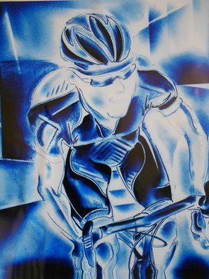 Jade Richards Artwork blue rider, 2012 blue rider, Sports