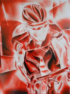 Jade Richards Artwork red rider, 2012 red rider, Sports