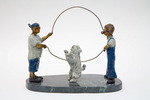 Bronze Sculpture by Ione Citrin titled: Double Dutch , created in 2008