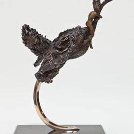 Ione Citrin: 'Escape', 2012 Bronze Sculpture, Abstract Landscape. Artist Description:  24