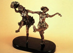 Bronze Sculpture by Ione Citrin titled: Pas de Deux , created in 2008