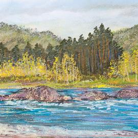 Rapids Katun River