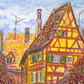Roofs of Kaysersberg