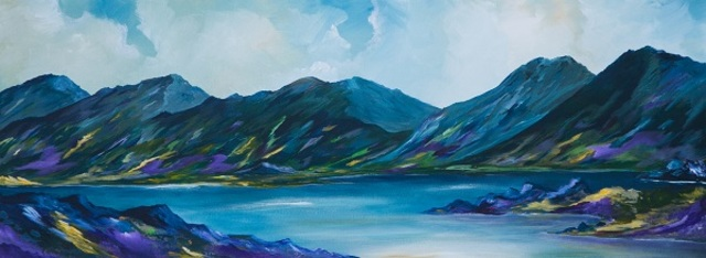 Conor Murphy  'The Ring Of Kerry', created in 2019, Original Painting Acrylic.