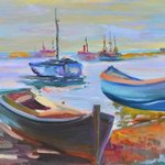 boats By Isabel Garro