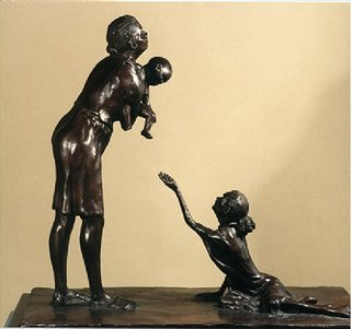 Martin Glick: 'the Plight of Afro American Women with AIDs', 2003 Bronze Sculpture, Representational. Artist Description:        This sculpture is one part of an AIDs monument that I have designed.  The whole of the sculpture would show all ways one can be infected with this dreaded disease.   ...