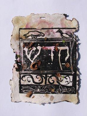Tamar Sorkin Artwork Haggada woodcut 2, 2008 Woodcut, Judaic